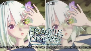 Fragile Dreams Wii vs AI Machine Learning (Side by Side) フラジール ~さよなら月の廃墟