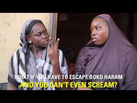 Beyond words: how deaf-mute Amaboua escaped Boko Haram and survived