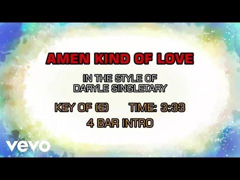 Daryle Singletary - Amen Kind Of Love (Karaoke)