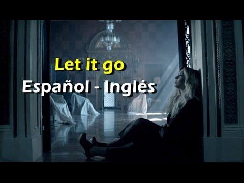 Demi Lovato Let it go (Official Vídeo) (lyrics + sub español)