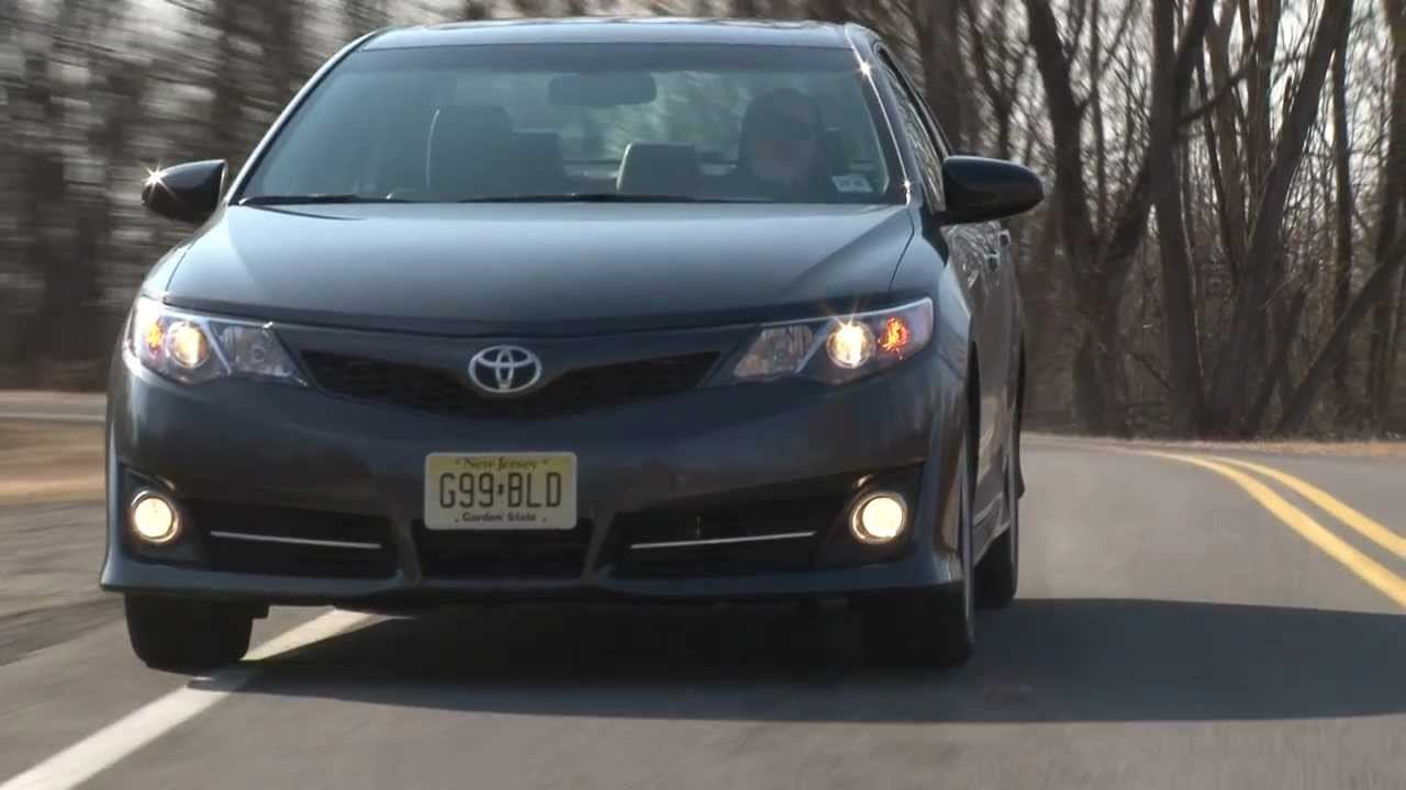 2012 Toyota Camry SE   Drive Time Review With Steve Hammes | TestDriveNow    YouTube