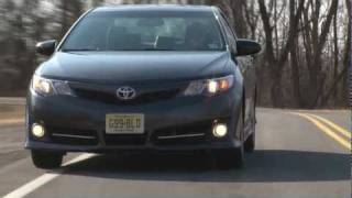 2012 Toyota Camry SE - Drive Time Review with Steve Hammes | TestDriveNow