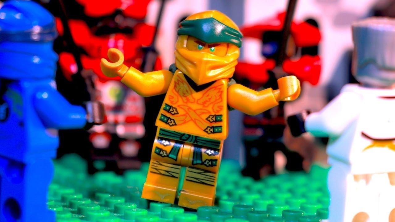 Download LEGO Ninjago NEW CREATION Episode 6 - The True Power of the Golden Ninja!