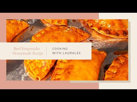 Beef Empanadas Video (Two different ways to make) Personalcooklauralee