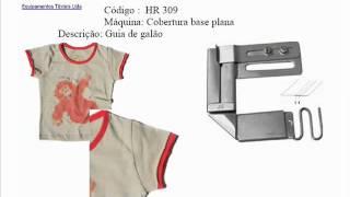 Aparelhos e acabamentos para costura - Hruschka