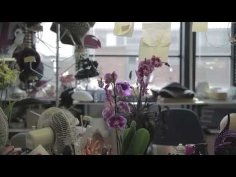 Making of the Philip Treacy Orchid Hats
