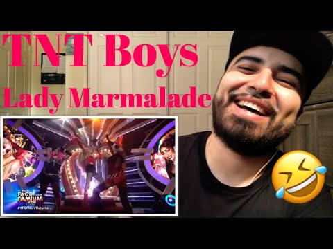 Reaction to TNT Boys Performing to Lady Marmalade