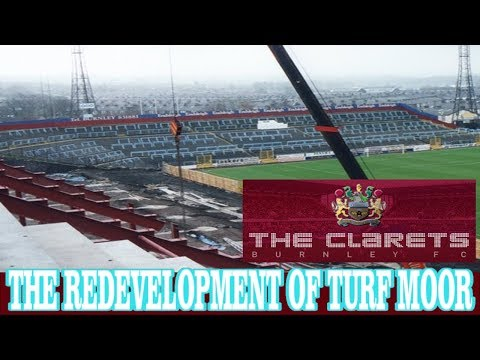 BURNLEY FC | THE REDEVELOPMENT OF TURF MOOR 1996