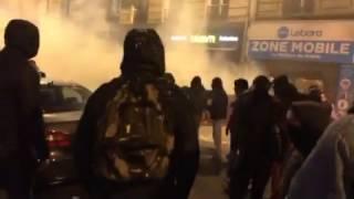 Manifestation Théo - Paris | Barbès 15 février 2017
