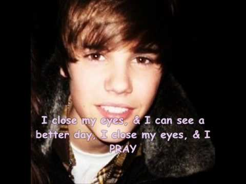 Pray ~ Justin Bieber (Lyrics) + (download link)