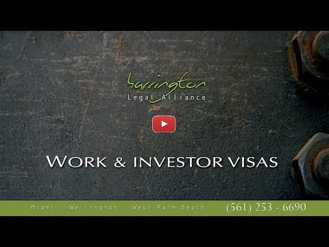 Immigration Law - Work & Investor Visas | Harrington Legal Alliance | West Palm Beach