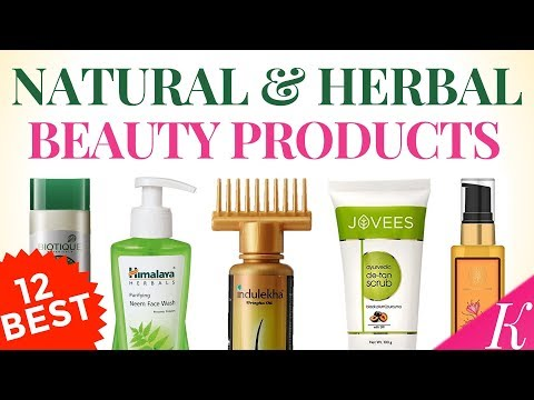 12 Best Natural & Herbal Beauty Products with Price in India   Top Organic Skincare Products
