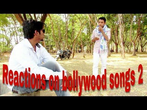 Reactions on bollywood songs 2|| funny video ||Jagtial diaries