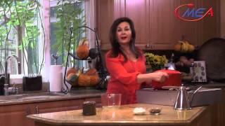 Samira's Kitchen # 143 Parmesan Sage Roast Turkey ديك رومي مشوي