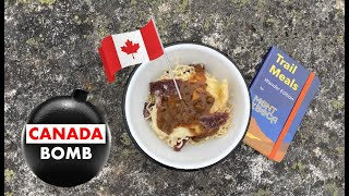 Canada Bomb.  New Ramen Bomb!  Fast, easy hiking, camping, backpacking meals | recipes