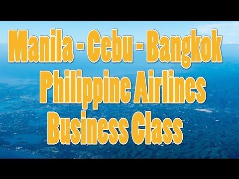 Manila - Cebu - Bangkok | MNL-CEB-BKK | Philippine Airline A321-200/A330-300 Business Class