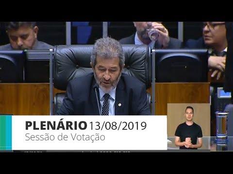Plenário - Sessão para a votação de propostas legislativas - 13/08/2019 - 14:00