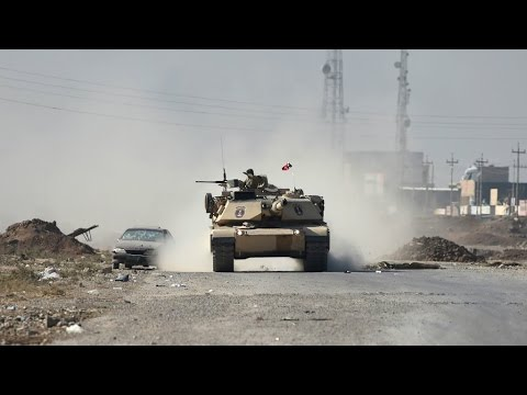 Iraq: Coalition forces face tough resistance against jihadist fighters inside Mosul
