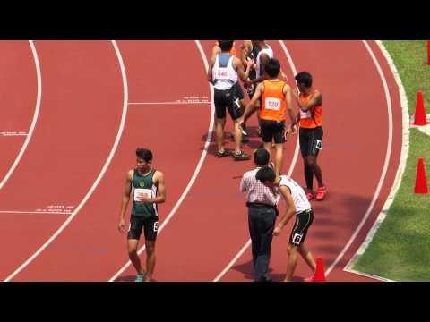 100m B Boys Final - 2014 National Schools T&F C'ships