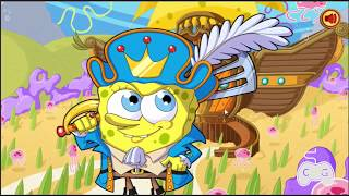 Bob Esponja Reinos Nick [ GamePlay ] Nickelodeon Games!