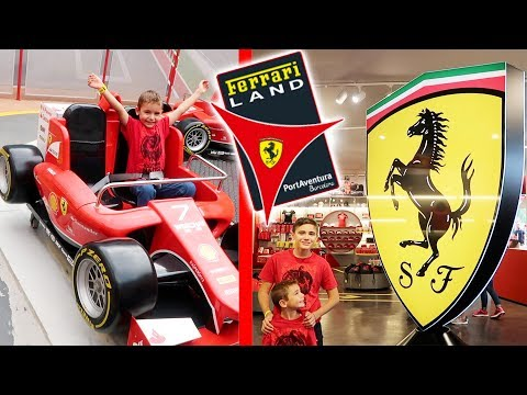 VLOG - On découvre FERRARI LAND ! 🏎 -  LE parc d'attractions Ferrari de PortAventura