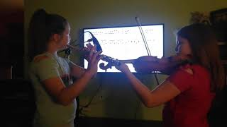 Shallow - Flute and Violin cover