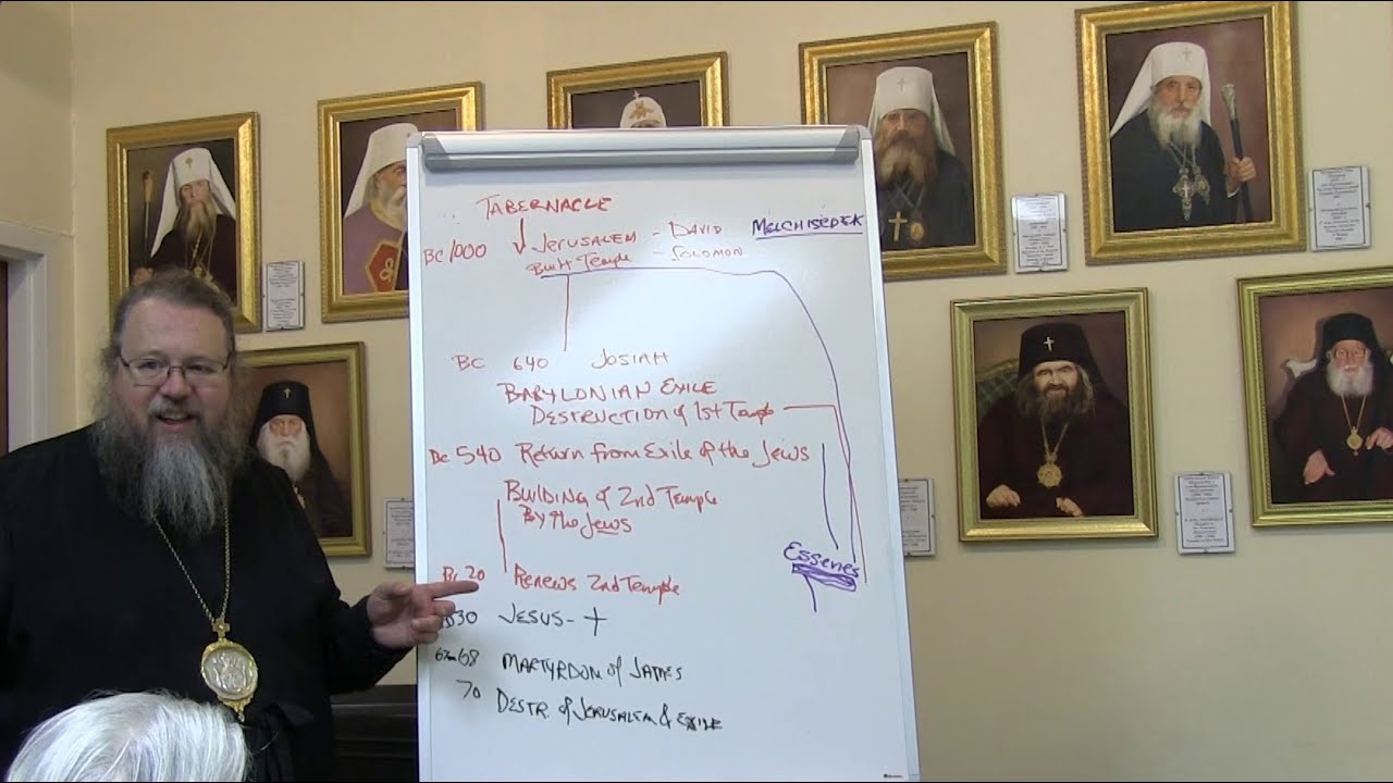 2014.11.24. The Liturgical Life of the Orthodox Church. Part V, by Metropolitan Jonah (Paffhausen)