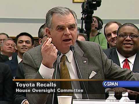 Transportation Sec Ray LaHood on Toyota Recalls