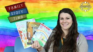 video thumbnail: Family Story Time - Rainbows!