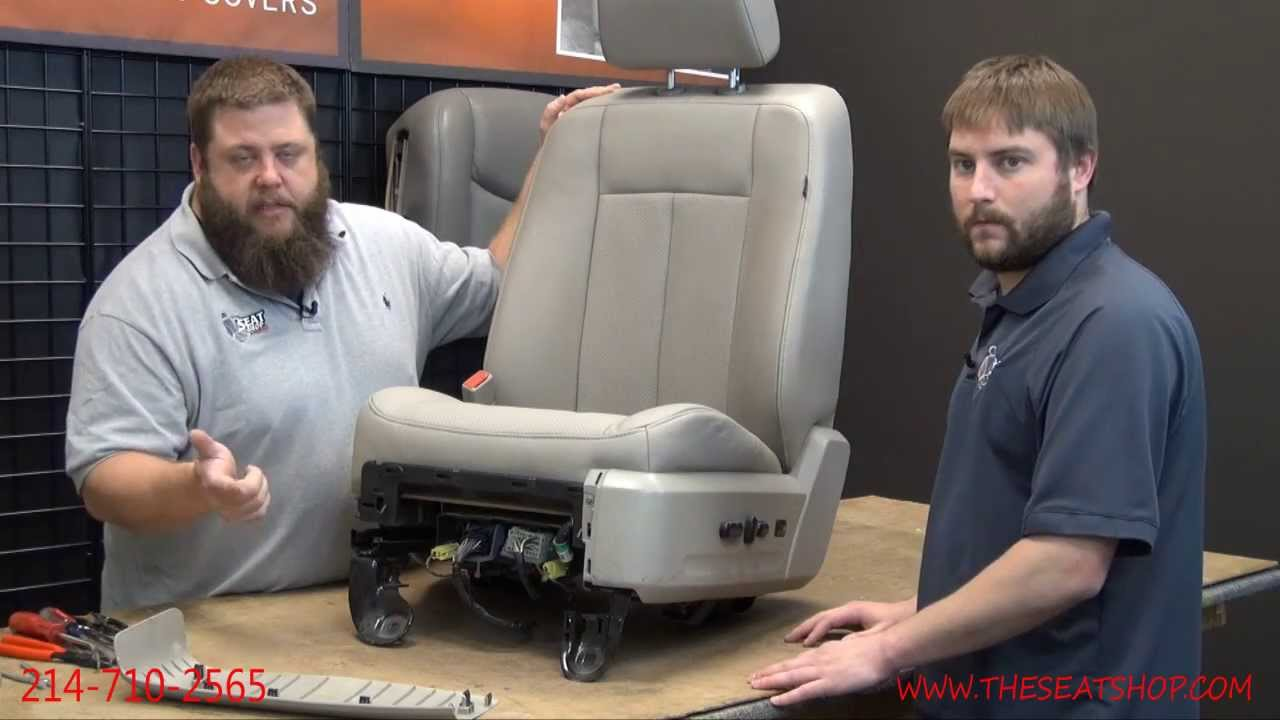 2007  2008 Ford ExpeditionLincoln Navigator Driver Bottom Install Video  YouTube