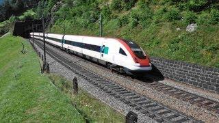 Die Gotthardbahn im Sommer 2012 - Zug,trainfart,train