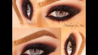 Purple smoky eyes Makeup by Ani Thumbnail