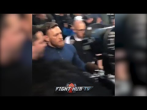 CONOR MCGREGOR RELEASED FROM JAIL! LEAVES COURTROOM AFTER POSTING 50K BAIL!