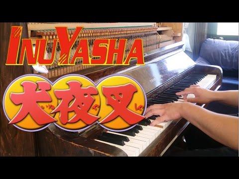 """InuYasha Opening 2 - """"I Am"""" (Piano w/ Lyrics)"""