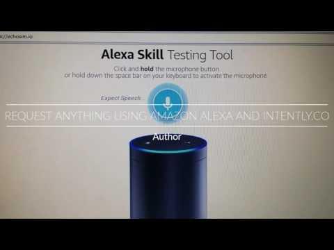 Cool Amazon Alexa skill (Intently.co)