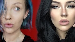 One of itslikelymakeup's most viewed videos: from thumb to fox//megan fox transformation//makeup tutorial
