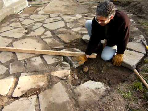 Recycled Concrete: Install A Patio   YouTube