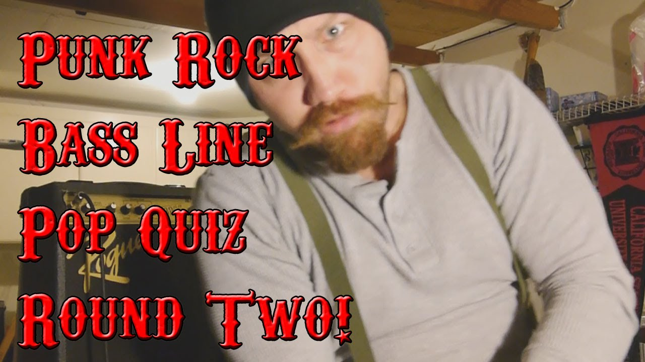 punk rock bass line pop quiz round 2 youtube. Black Bedroom Furniture Sets. Home Design Ideas