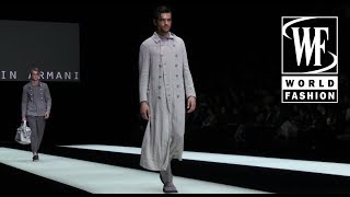 Giorgio Armani Весна/Лето 2018 Неделя Мужской Моды в Милане