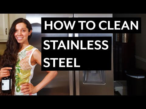 How to Clean a Stainless Steel Refrigerator