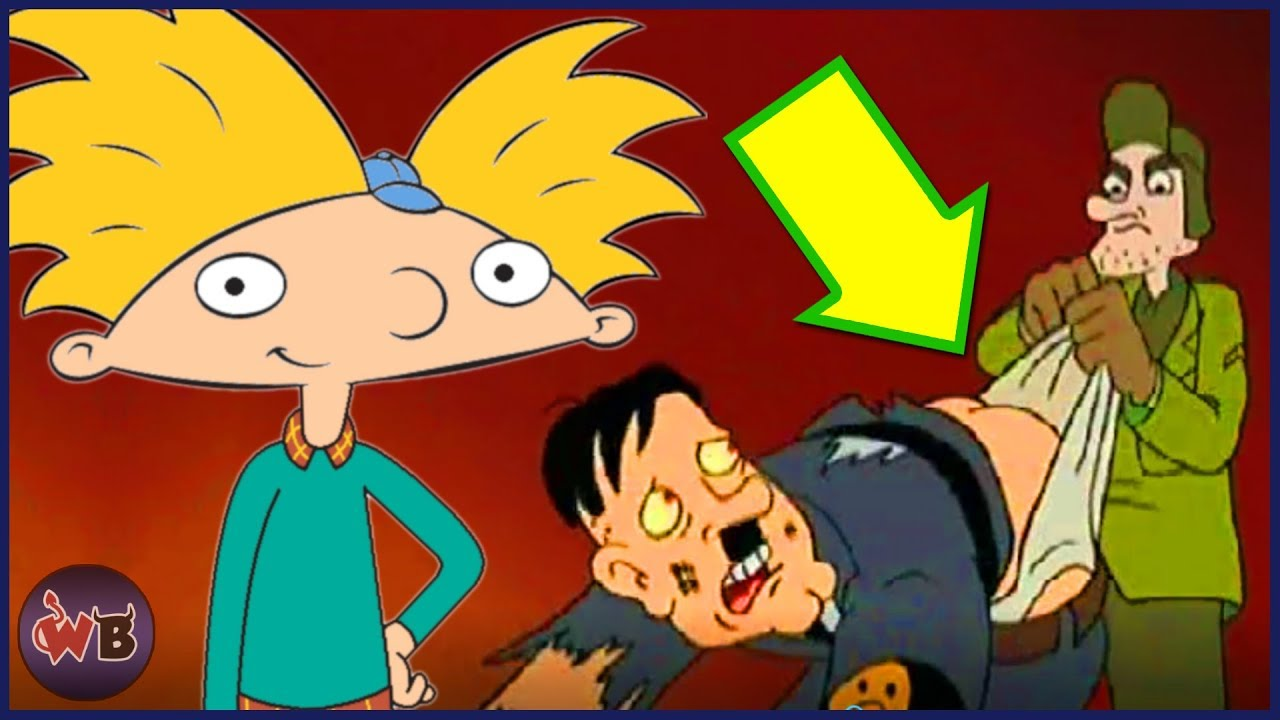 Totally Messed Up Hey Arnold! Jokes You Missed