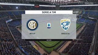 ⚽ Inter Milan Vs Brescia ⚽   Serie A  01/07/2020    Fifa 20