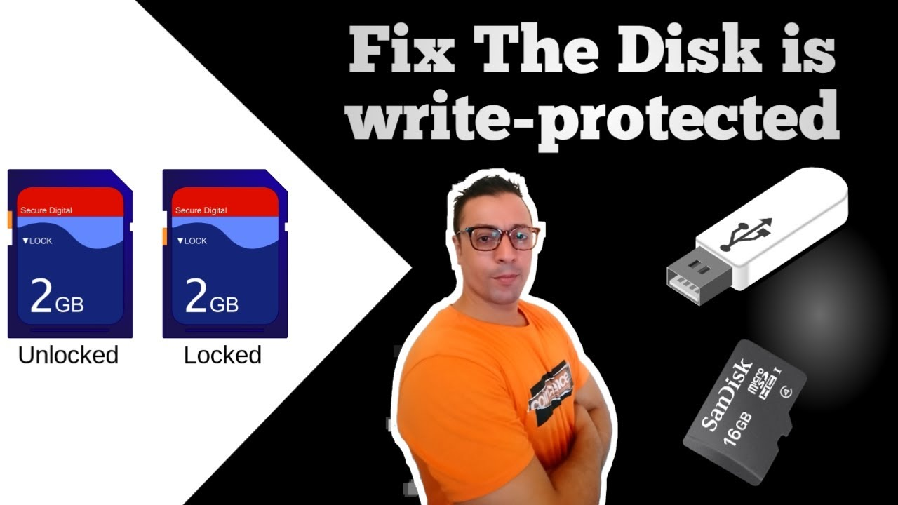 top ways to remove write protection from pen drive or sd