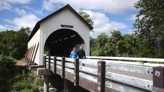 The Wimer Covered Bridge