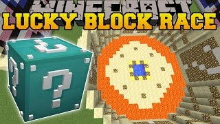 Minecraft: ULTIMATE DIAMOND LUCKY BLOCK RACE - Lucky Block Mod - Modded Mini-Game
