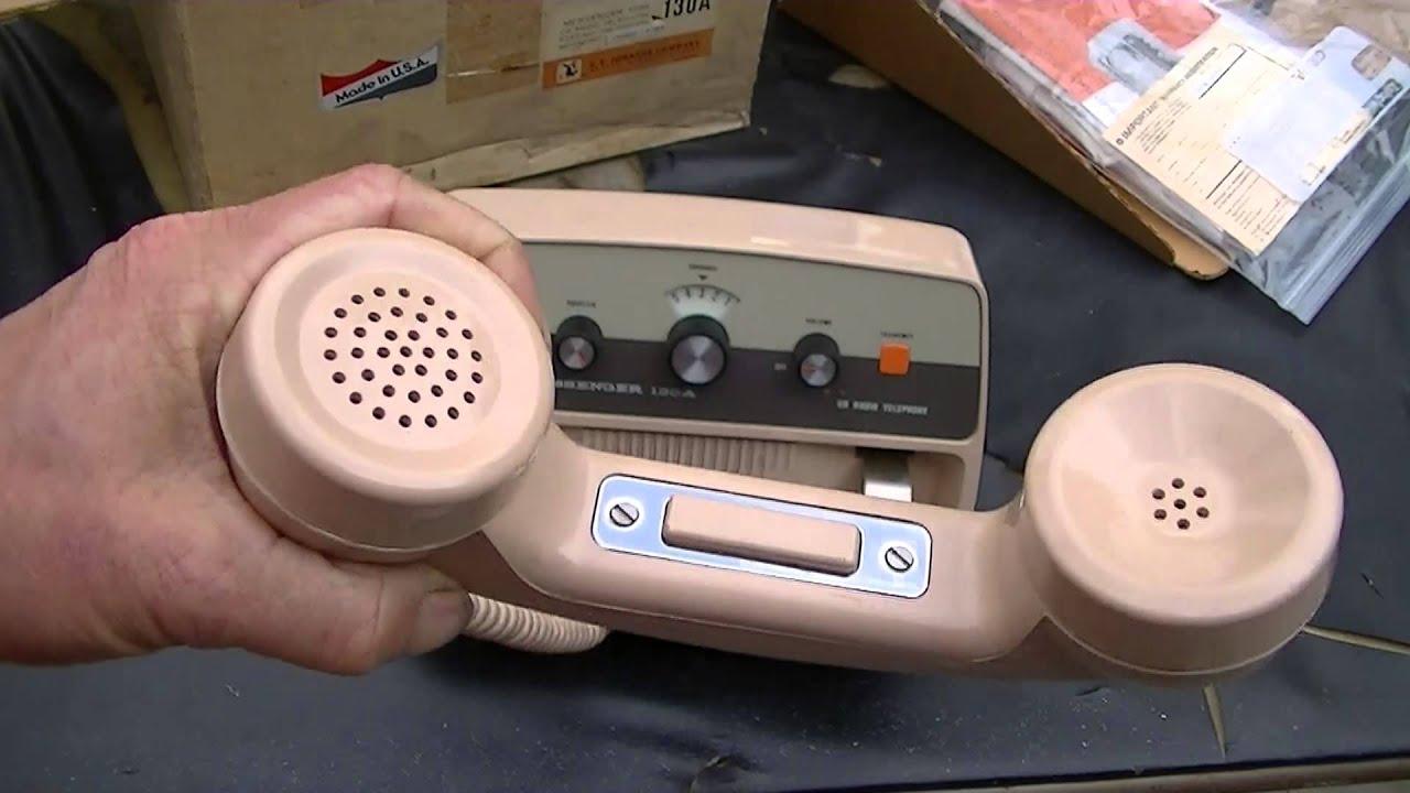 Ef Johnson Messenger 130 Cb Radio Telephone