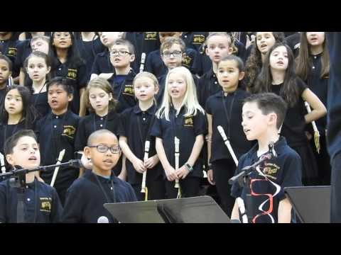 Swimming River School 3rd Grade Concert 2/16/17