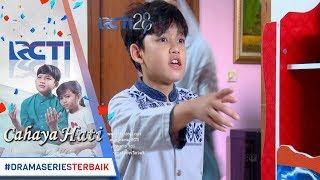 CAHAYA HATI - Yusuf Kaget Melihat Azizah Di TV 4 Agustus 2017
