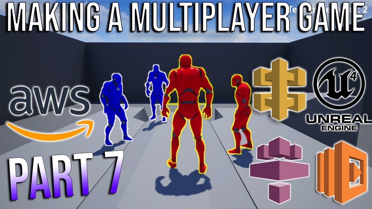 How To Make A Multiplayer Game With Unreal Engine and Amazon GameLift (Part 7 - Client)