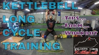 KETTLEBELL LONG CYCLE Training Session with Joe Daniels Multiple Angles